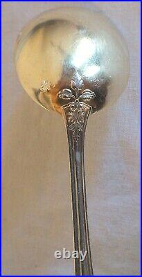 12 Cuilleres A Glace Argent massif Vermeil Art Nouveau H. Soufflot