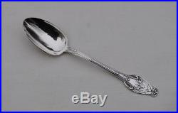 4 CUILLERES A CAFE N ARGENT MASSIF ART NOUVEAU Sterling Silver Coffee Spoons