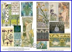 ART NOUVEAU TASSE A CHOCOLAT no 2 et sa SOUCOUPE en argent massif décor d'iris