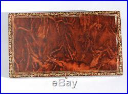 ART NOUVEAU nécessaire de couture ancien ARGENT antique Sewing set etui Ciseaux
