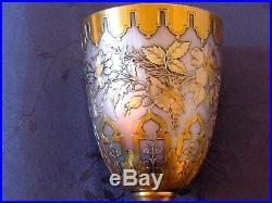 Art Nouveau Argent Massif Et Vermeil Splendide Calice Tallois Mayence