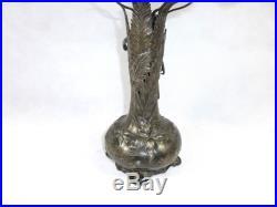 Art nouveau WMF Vase À 1900 étain plaqué argent