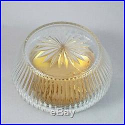 Boite en cristal et argent massif Art Nouveau Minerve 20ème