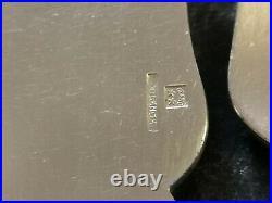 Boulenger Chardons Art Nouveau 6 Couverts A Poisson Metal Argente