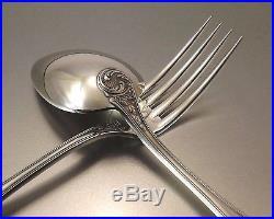 Boulenger Menagere Style Louis XV 61 Pieces En Metal Argente Annees 1950