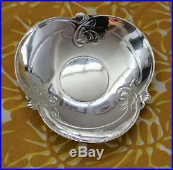 CHARLES CHRISTOFLE Paire de coupes en argent massif Art Nouveau 902 gr