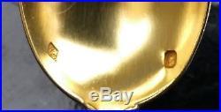 Coffret Petites Cuilleres Argent Minerve Art Nouveau Decor Iris Pince A Sucre
