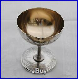 COUPE TROPHEE AVIRON ARGENT MASSIF ART NOUVEAU 1882 Sterling Silver Rowing Cup