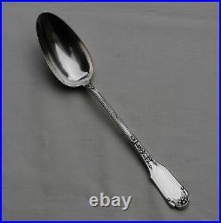 CUILLERE DE SERVICE ARGENT MASSIF ART NOUVEAU Sterling Silver Serving Spoon