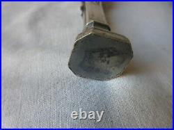 Cachet bronze argenté. Epoque Art-Nouveau. La République Fin XIX. Faune. Seal