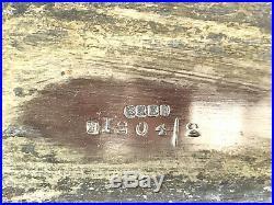Cave A Liqueurs Kirby Beard &co Paris Metal Argenté A 3 Flacons En Cristal