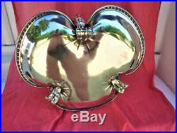 Christofle Orfèvrerie Gallia Coupe A Fruits Art Nouveau Silver Métal Cup Frutta
