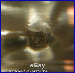 Coupe ajourée sur pied en argent massif poinçon minerve titre 1 Ravinet d'Enfert