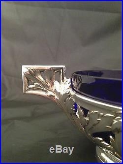 Coupe en métal Argenté, Argit, SFOA. Art Nouveau