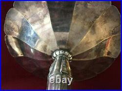 Coupe métal argenté Sue et Mare pour Gallia Cristofle