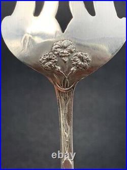 Couverts de service argent massif Art Nouveau c. 1900 Antique solid silver cutle
