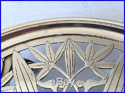Dessous de plat CHRISTOFLE en métal argenté ART NOUVEAU