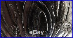 E. CardeilhacSuite de 12 petites cuillères d'époque art nouveau argent massif