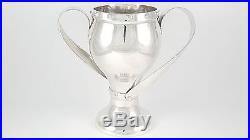 Edouardienne Argent Sterling Massif Art Nouveau Coupe Trophée Ldn 1910 437