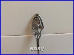 Ensemble 6 salerons argent massif minerve Art Nouveau silver salt parfait état