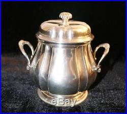 Fouquet Lapar, Service à thé-café en argent Ier titre, 4 pièces de 1747 gr