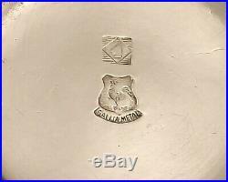 Gallia Christofle Service A Liqueur Art Nouveau En Metal Argente Vers 1900