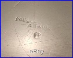Georges Fouquet Paris Grand Plat Ovale De Style Empire Argent Massif Debut Xx°