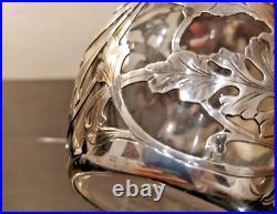 Ghorham flacon Argent 925 États-Unis Fin du XIXe siècle