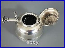 Grand Samovar métal argenté XIXe s. Belle argenture, bel état