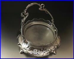 Hans Peter Juventa Prima Metal Coupe Art Nouveau En Metal Argente Vers 1900