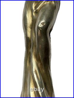 Janvier QUERCIA Pommeau Canne Argent Danseuse Loïe Fuller Art Nouveau Jugendstil
