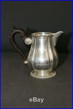 Lapar Service à thé café en argent massif 4 pièces 2200 gr environ