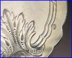 Louis Coignet Service A Glace 7 Pieces Argent Massif Et Vermeil Vers 1900