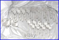 MAILLARD & VAZOU BELLE MENAGERE ART NOUVEAU 98 pc ARGENT MASSIF MINERVE 6,5 kg
