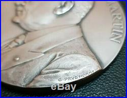 Médaille ARGENT ART Nouveau Marianne Germain Martin PRUDHOMME SILVER MEDAL