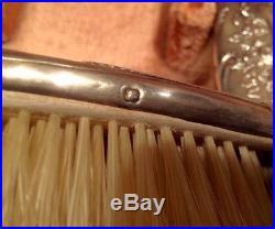 Necessaire de toilette ARGENT MINERVE, face à main, coiffure, ART NOUVEAU, XIXE, XXE