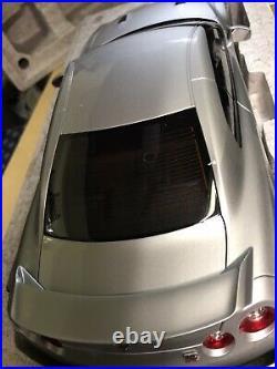 Nissan Gtr 5 Auto Art 1/12 Eme Gris