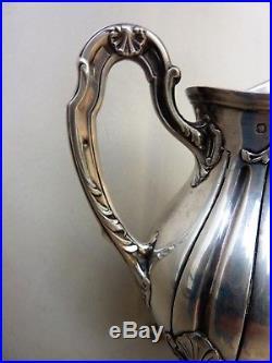 POT A LAIT ARGENT MASSIF ART NOUVEAU MINERVE SILVER MILK POT Vaso di latte