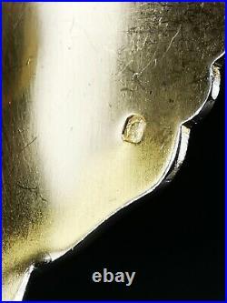 PUIFORCAT Couverts de service modèle IRIS Art nouveau Argent Minerve