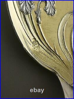 PUIFORCAT IRIS 3 cuillères Art nouveau Argent massif