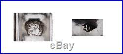 PUIFORCAT IRIS ECRIN 4pc SERVICE ARGENT MASSIF ART NOUVEAU Sterling Silver