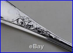 PUIFORCAT IRIS PINCE A SUCRE ARGENT MASSIF ART NOUVEAU Sterling Silver