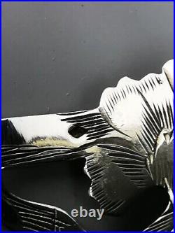 Petit service à mignardises 3 Pce Art nouveau Argent Minerve