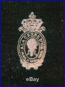 Petites cuillères Empire en argent massif Minerve Lapparra 1902
