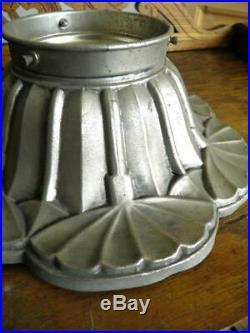 Pied De Lampe Ou Plafonnier Art Nouveau Daum Degué Delatte Muller (340)