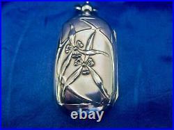 Porte louis d'or art nouveau argent massif 800
