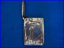 Pyrogène art nouveau argent Leon Alexandre Blanchot 1900