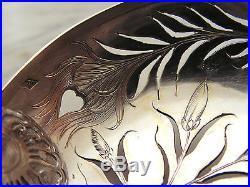 Rare Cuillere Saupoudreuse A Sucre Art Nouveau Jugendstil Argent Massif Marmuse