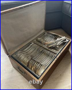 RARE MÉNAGÈRE CHRISTOFLE 105 PIÈCES modèle MARIE ANTOINETTE métal argenté