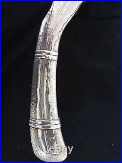 Ramasse Miette Art Nouveau Christofle Feuille Sublime Métal Argenté 0505 17